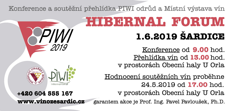 Výstava vín a Hibernal forum 2019